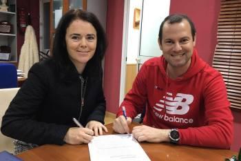 Firma convenio colaboración COPOAN- Zurich Maraton de Sevilla 31 de Enero 2019
