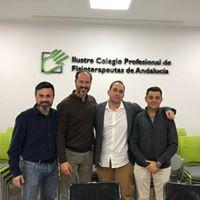 Reunion con Colegio de Fisioterapeutas de Andalucía 18 de Diciembre de 2018