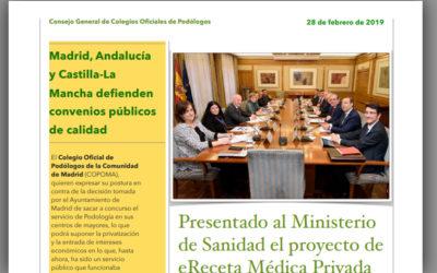 Boletín 44 del Consejo General de Colegios Oficiales de Podólogos