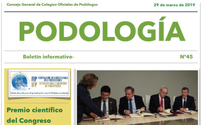Boletín Informativo nº 45 de Podología
