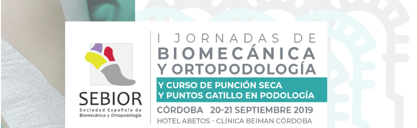 I Jornadas de Biomecánica y Ortopodologia SEBIOR