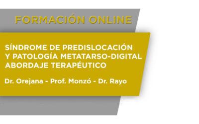 Síndrome de predislocación y patología metatarso- digital. Abordaje terapéutico