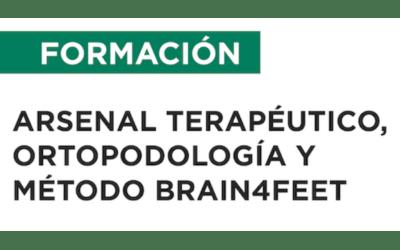 ARSENAL TERAPÉUTICO, ORTOPODOLOGÍA Y MÉTODO BRAIN4FEET – Cordoba